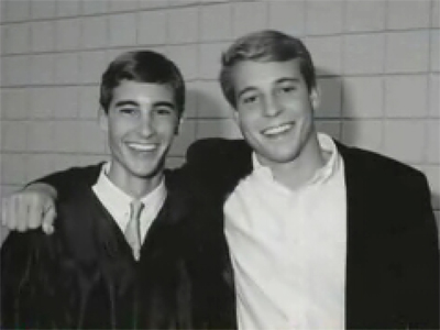 Pierce Owings, left, spent most of his life following Cullum everywhere: to high school and then to college at Washington and Lee University, where he joined the same fraternity as Cullum, Sigma Alpha Epsilon. (Photo: STEVE OWINGS)